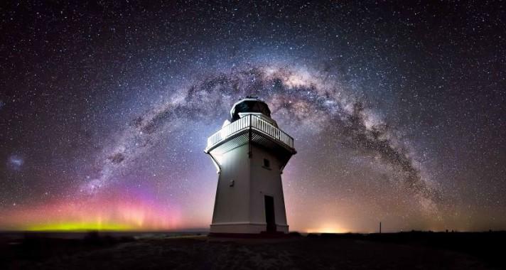 Lenyűgöző éjszakai fotók Új-Zélandról