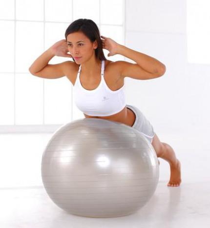 Hozd magad formába fitnesz labdával