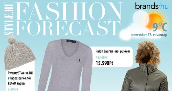 Fashion Forecast - November 27.