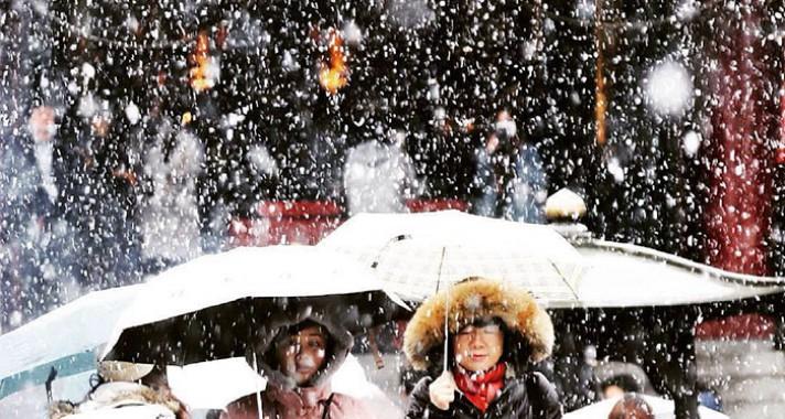 Tokió 50 év után látta újra a havat idén novemberben
