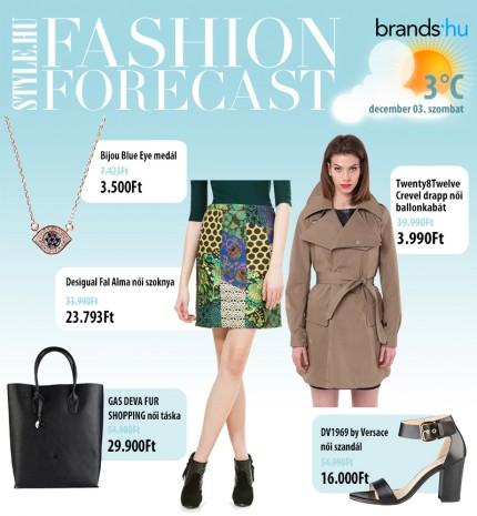 Fashion Forecast - December 3.