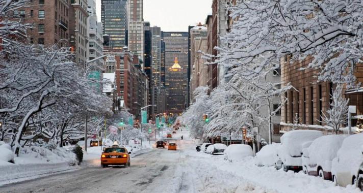 15 csodálatos fotó a téli New York-ról