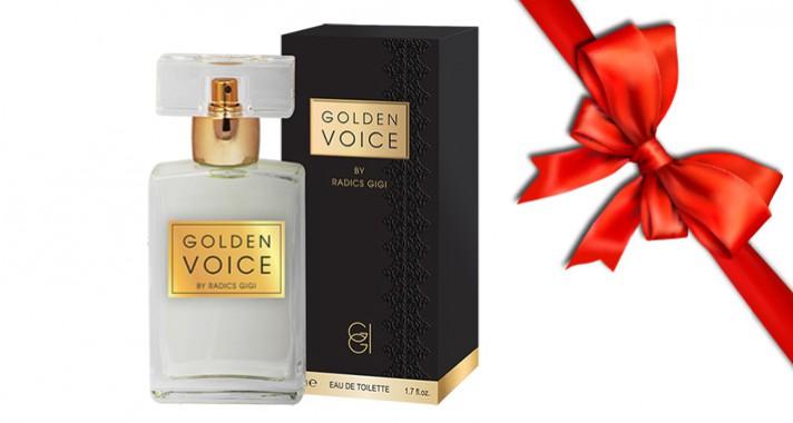 Style Tipp: Radics Gigi első parfümje a Golden Voice!
