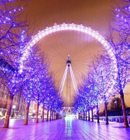 15 lenyűgöző kép London karácsonyi fényeiről