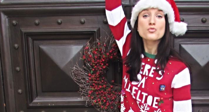 Karácsonyi pulcsikörkép