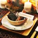 Asztali dekoráció karácsonyra
