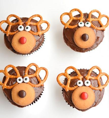 A mi karácsonyi kedvencünk: rénszarvas muffin