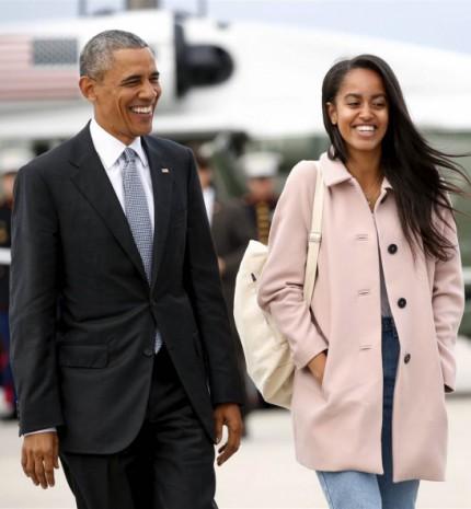 Top15: stílusos és cuki fotók Malia és Sasha Obamaról