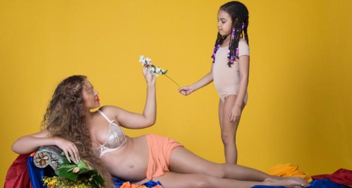Beyoncé ikreket vár! - Íme, a kismama fotózás legjobb pillanatai, egyenesen a pop királynőjétől