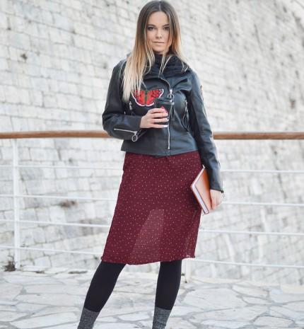 Stílusiskola: 11 téli outfit harisnyanadrággal, mert még mindig hideg van