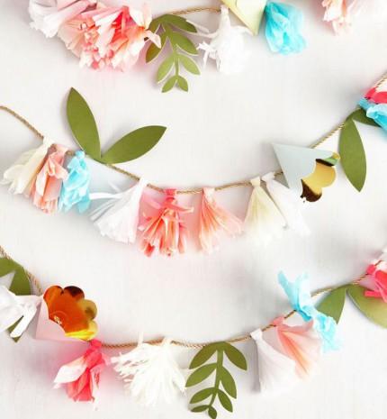 10 csodálatos papírból készíthető virágdekoráció, amivel az otthonodba varázsolhatod a tavaszt