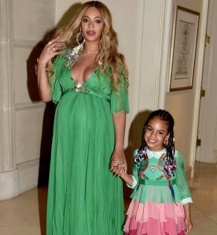 Beyonce és kislánya mindenki szívét elolvasztották a Szépség és a szörnyeteg Hollywood-i premierjén