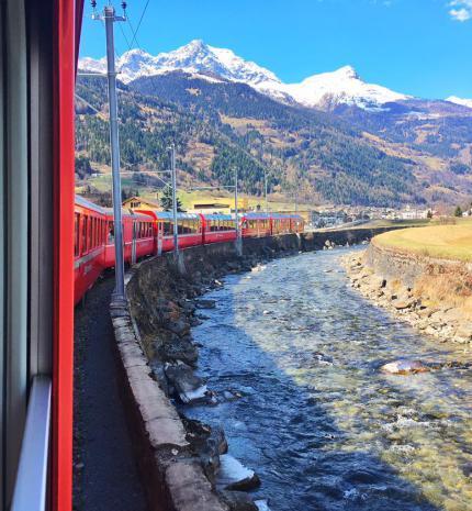 Utazás a Bernina Expressen