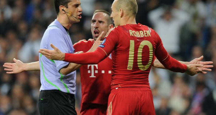 Áll a botrány a Real-Bayern mérkőzés után