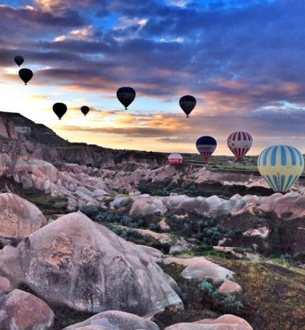 Bakancslista: Hőlégballonozás Kappadókiában