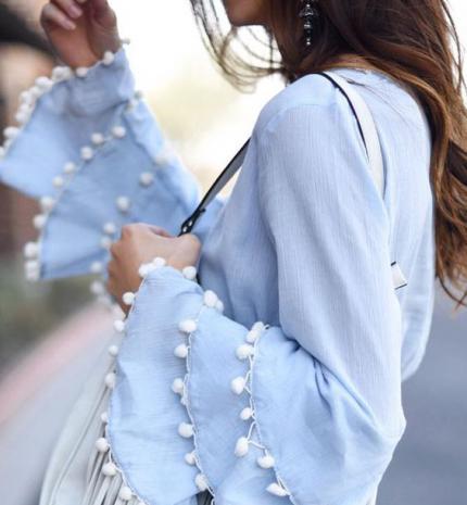 Top tipp: bátran viselj pompomokat, ha stílusos szeretnél lenni