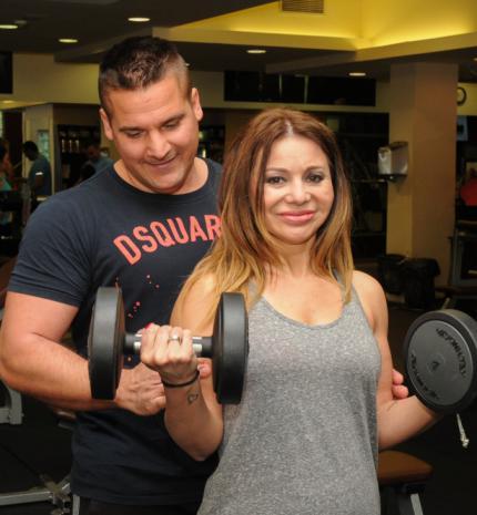 Czanik Balázzsal edz az énekesnő