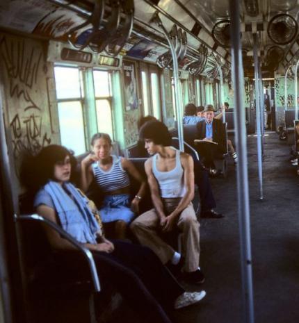 Ritka vintage fotók a 70-es, 80-as évek new york-i metrójából