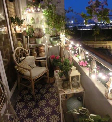 15 csodás ötlet hangulatos erkély vagy terasz dekorálásához