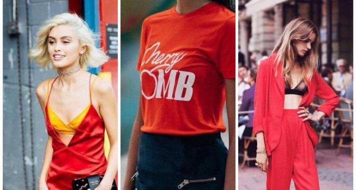 Stílusiskola: Így viselj piros színt