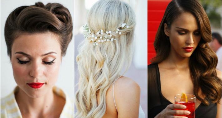 Top10: frizura ötletek esküvőkre