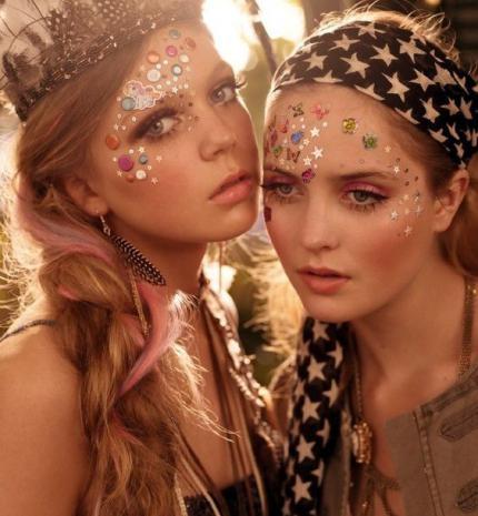 Top10: a legjobb fesztivál sminkek