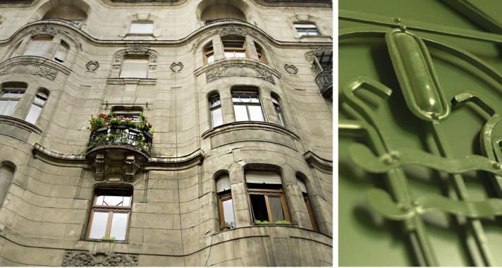 """Szecesszós Csikágó - avagy Budapest """"rejtett"""" kincsei 1."""