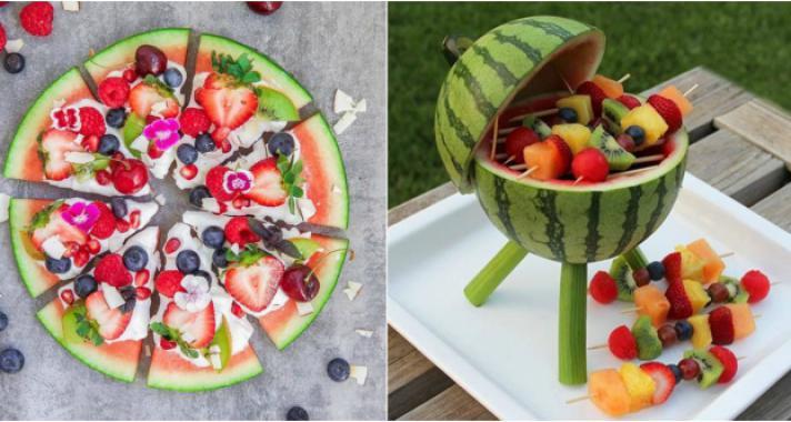 10 ennivaló ötlet a görögdinnye tálalásához