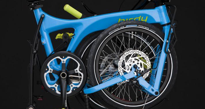 Nem a méret a lényeg- összecsukható kerékpár: Birdy