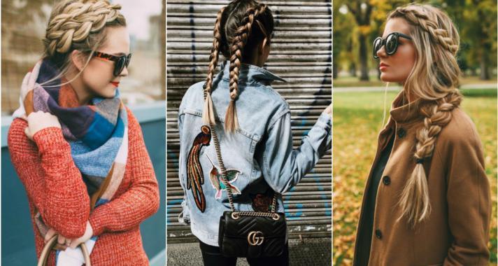 10 bizonyíték, hogy a fonott haj az őszi outfit-ek tökéletes kiegészítője