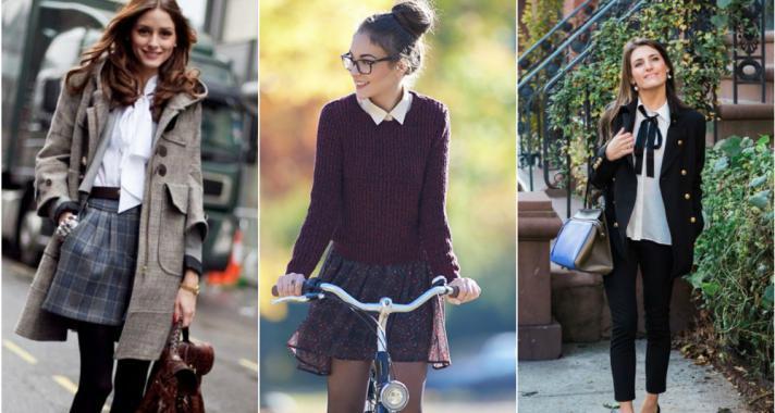 Stílusiskola: iskolai egyenruhák ihlette outfit ötletek őszre