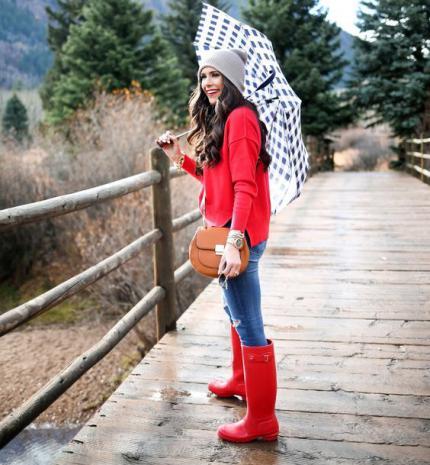 Stílusiskola: így legyél csinos esős időben