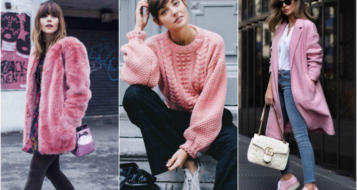 Stílusiskola: így viselj ősszel rózsaszínt