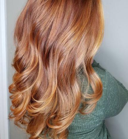 Top10: csodás szőkés vörös hajszín