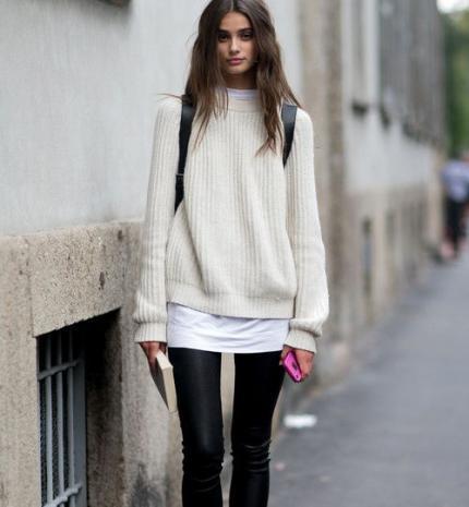 Stílusiskola: ősszel is viselj feketét fehérrel