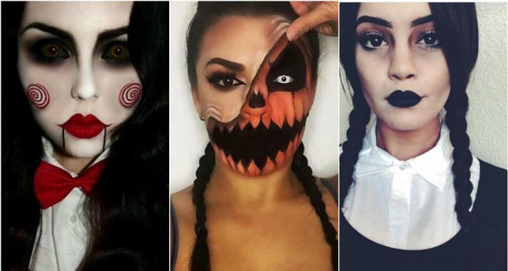 Top10: a legjobb Halloween-i sminkek