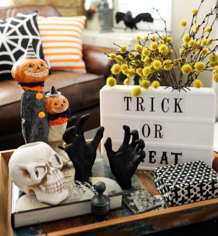 Halloween-i dekorációs ötletek őszre