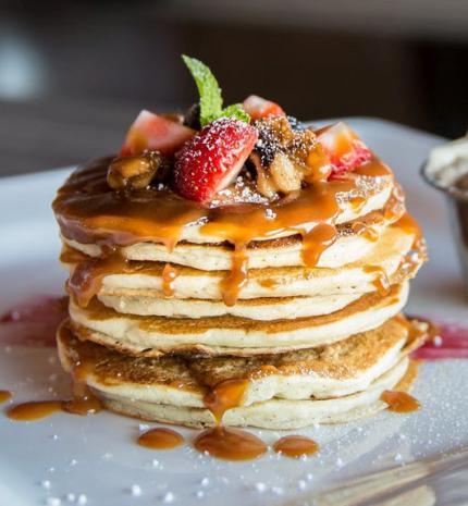 Isteni epres amerikai palacsinta reggelire