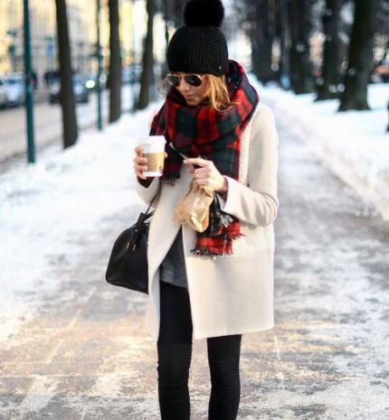 Stílusiskola: 20 outfit, ami szívesen magunkra kapnánk a hidegben