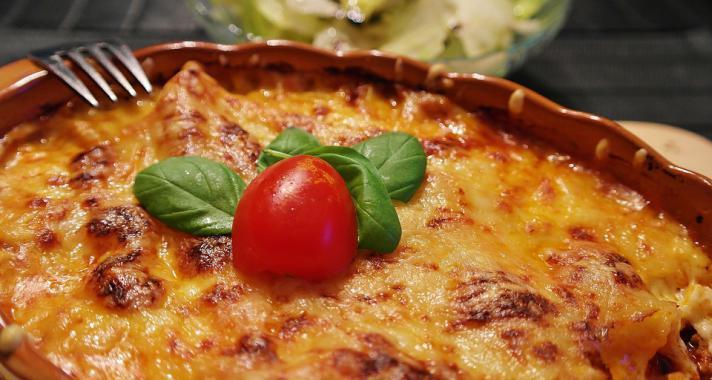 Vacsora tipp: Salsa lasagne