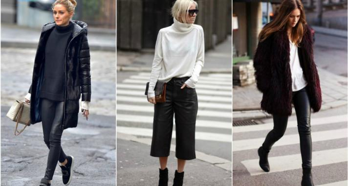 Stílusiskola: így viselj télen (mű)bőr nadrágokat