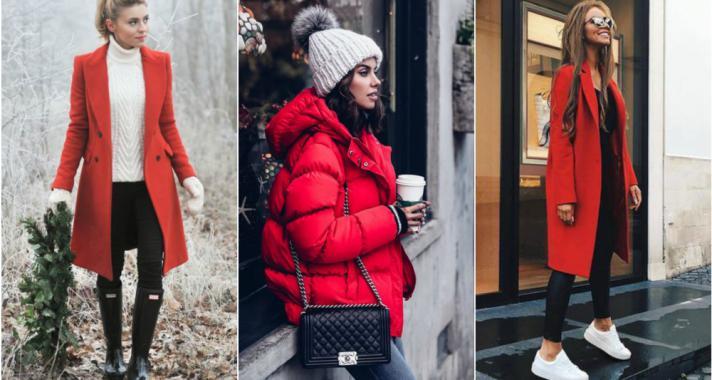 Stílusiskola: idén télen a pirosra szavazunk, ha kabátokról van szó