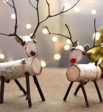 10 karácsonyi dekorációs ötlet a természetesség jegyében