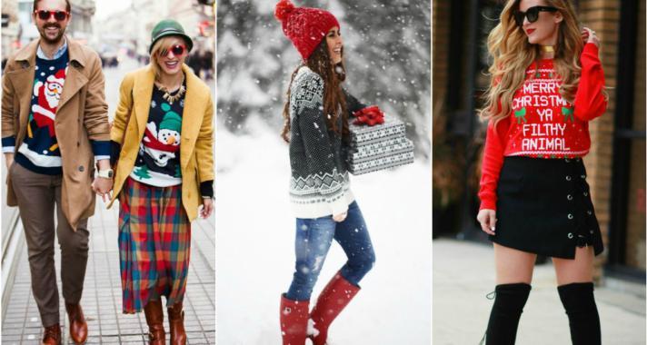 Stílusiskola: 'ronda' karácsonyi pulcsiban is lehetsz csinos