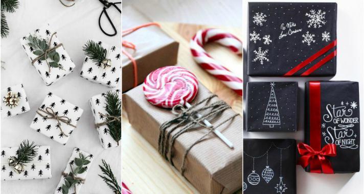 Top15: tippek a karácsonyi ajándékok stílusos becsomagolásához