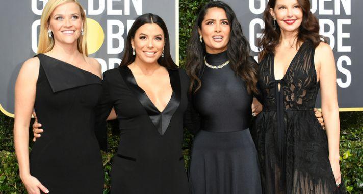 Tetőtől talpig feketében a vörös szőnyegen - a 75. Golden Globe gála nyertesei