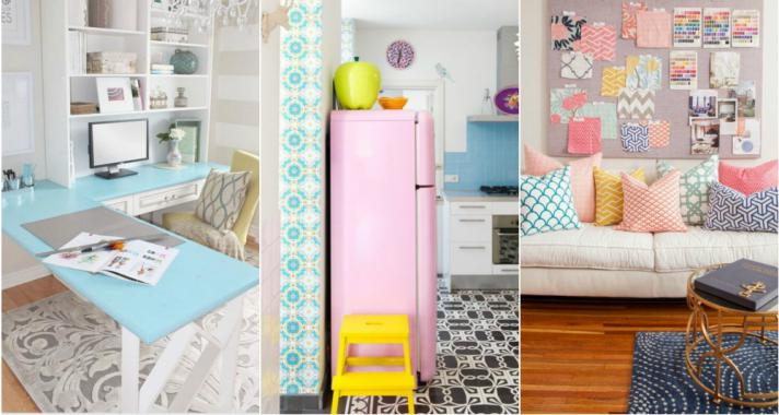 Top10: dobd fel az otthonod pasztell színekkel