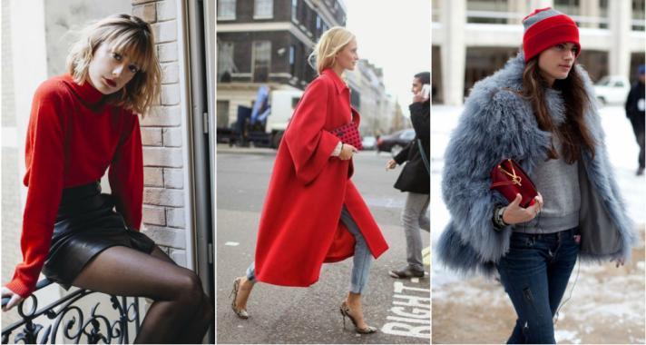 Stílusiskola: télen vigyél színt a ruhatáradba egy kis pirossal