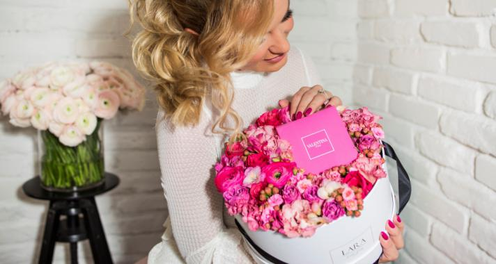Valentino Valentina Limited Flower Box by Laura Virág