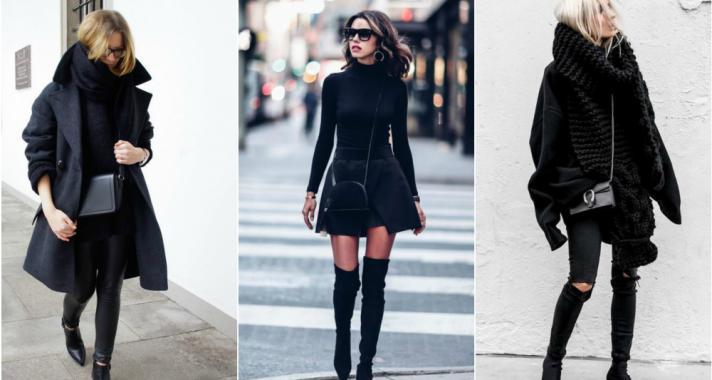 Stílusiskola: egy teljesen fekete outfittel mindig biztosra mehetsz